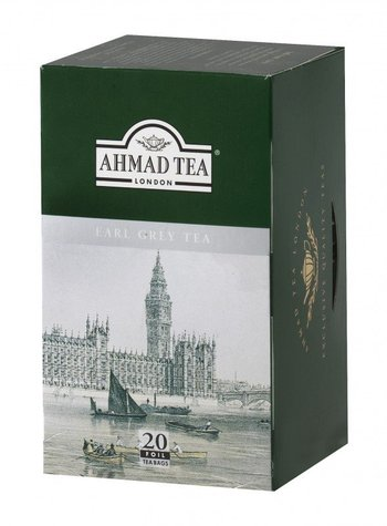 Earl Grey Ahmad tea 20x2g