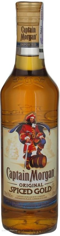 Captain morgan spiced 0,5l