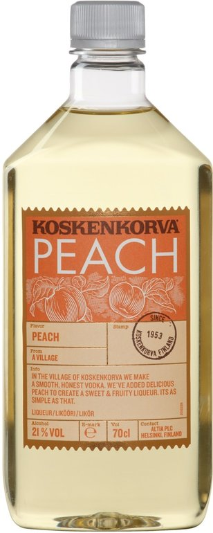 Koskenkorva Peach vodka 0,7l