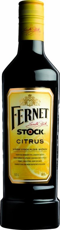 Fernet Stock Citrus 0,5l