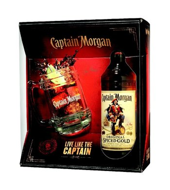 Captain Morgan Spiced Gold 0,7l +korbel