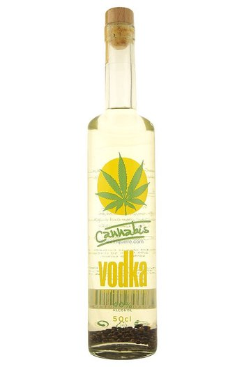 Cannabis vodka 0,5l
