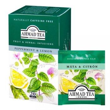 Peprmint s citronem Ahmad tea 20x2g