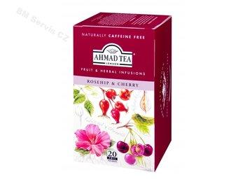 Ibišek a třešně Ahmad tea 20x2g