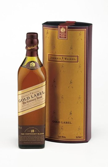 Johnnie Walker gold label 0,2l