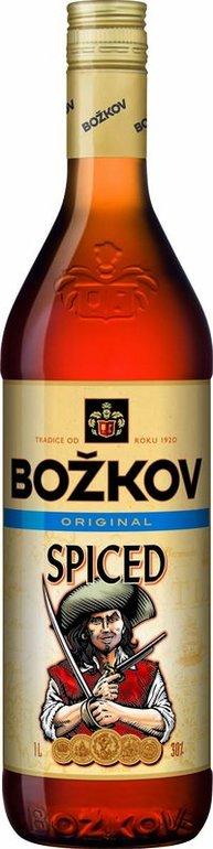 Spiced rum Božkov 1l