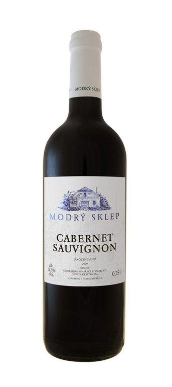 Modrý Sklep Cabernet Sauvignon jakostní 0.75l