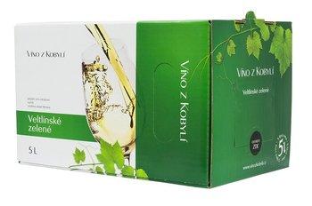 Veltlínské Zelené Bag in Box