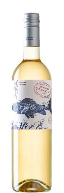 Travníček & Kořínek Sauvignon blanc pozdní sběr 2018 0.75l