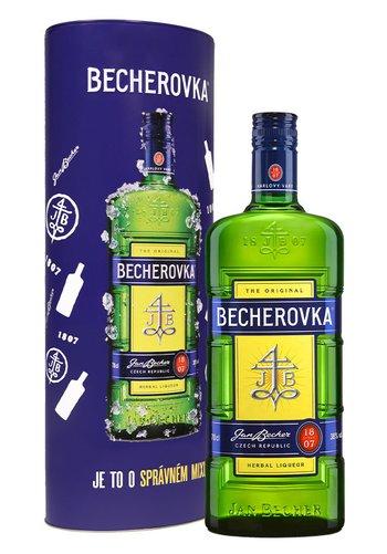Becherovka Plechová tuba