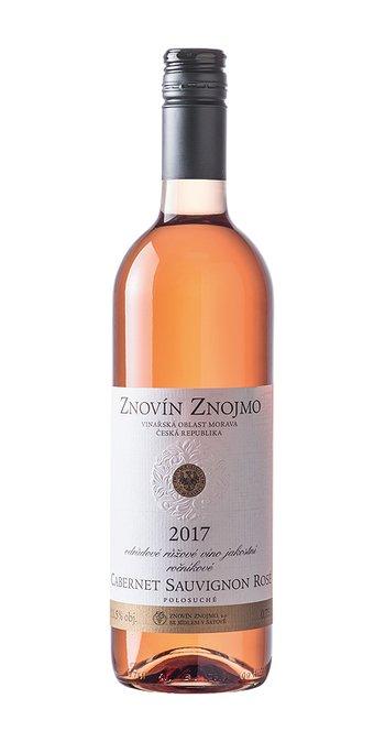 Znovín Znojmo Cabernet Sauvignon rosé 2017 0.75l
