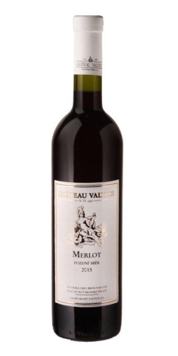 Chateau Valtice Merlot pozdní sběr 2015 0.75l