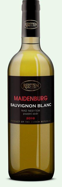Vinařství Reisten Sauvignon blanc pozdní sběr Maidenburg 2016 0.75l