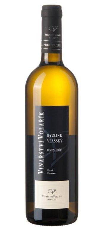 Volařík Ryzlink vlašský pozdní sběr 2015 0.75l